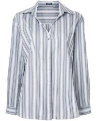Jil Sander Navy - Striped Shirt - Lyst