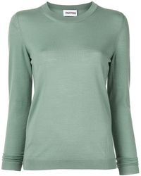 Partow Basic Knitted Sweater - Green