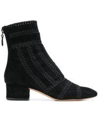 Alexandre Birman - Stitch Detail Ankle Boots - Lyst