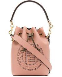 Fendi 'Mon Trésor' Beuteltasche - Pink