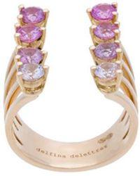 Delfina Delettrez - 8 Dots Pink Sapphires Ring - Lyst