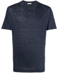 Boglioli リネン Tシャツ - ブルー