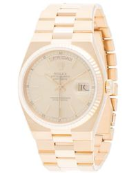 Rolex Orologio Oyster Perpetual Day-Date 30mm Pre-owned - Metallizzato