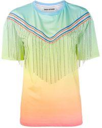 Each x Other ラインストーン Tシャツ - マルチカラー