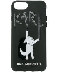 Karl Lagerfeld - Choupette Fun Iphone 7 Case - Lyst