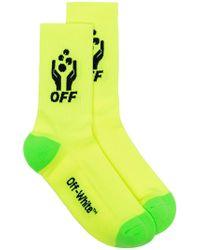 Off-White c/o Virgil Abloh - Fluoreszierende Socken - Lyst