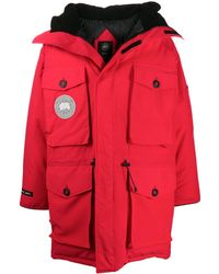 Canada Goose Parka Expedition x Juun.J - Rouge