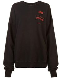 Amiri - Sweatshirt mit Logo-Print - Lyst