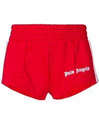 Palm Angels - Track Shorts - Lyst