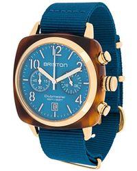 Briston 'Clubmaster Classic' Armbanduhr, 40mm - Blau