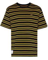 WTAPS T-shirt a righe Jam 01 - Nero