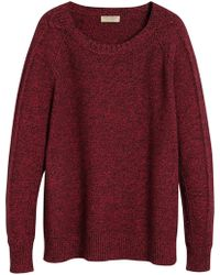 Burberry - Raglan Sweater - Lyst