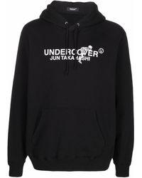 Undercover ロゴ パーカー - ブラック