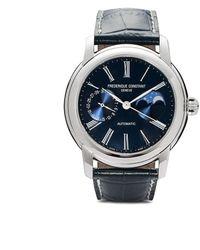 Frederique Constant Наручные Часы Classic Moonphase Manufacture 42 Мм - Синий