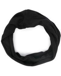 Raf Simons Снуд С Вышитым Логотипом - Черный