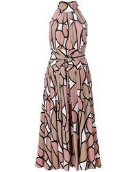 Diane von Furstenberg - ホルターネック ドレス - Lyst