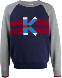 KENZO Graphic K セーター - ブルー
