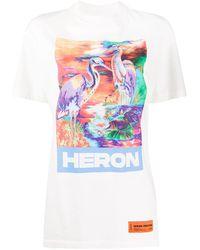 Heron Preston - オフホワイト Heron カラー T シャツ - Lyst