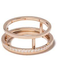 De Beers 18kt Roségouden Ring - Metallic