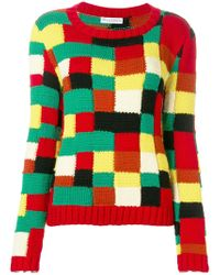 JW Anderson - Colour Blocked Sweater - Lyst