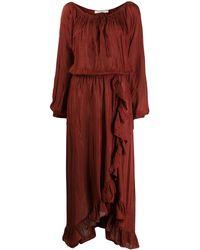 Mes Demoiselles Платье Макси Mercedes - Красный
