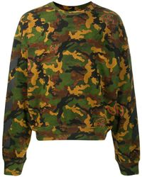 Off-White c/o Virgil Abloh - Sweatshirt mit Camouflage-Print - Lyst