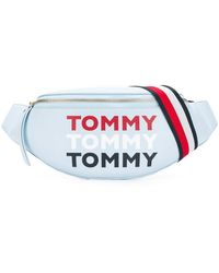 Tommy Hilfiger Heuptas Met Logoprint - Blauw