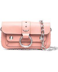 Zadig & Voltaire Мини-сумка Kate - Розовый