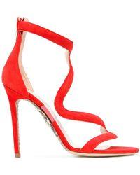 Cesare Paciotti - Wavy Strap Sandals - Lyst