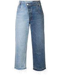 Monse Split Wash Jeans - Blue