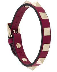 Valentino Valentino Garavani Rockstud Bracelet - Pink