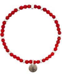 Eleventy - Beaded Single Charm Bracelet - Lyst