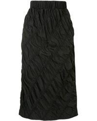 3.1 Phillip Lim シャーリング スカート - ブラック