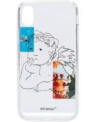 Off-White c/o Virgil Abloh - Iphone Xr Phone Case - Lyst