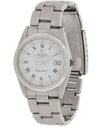 Rolex Pre-owned Oyster Perpetual Date 15200 Horloge - Metallic