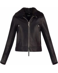 Giuseppe Zanotti Ird9004001 Black Furs & Skins->bovine Leather (top Grain) - ブラック