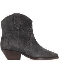 Isabel Marant Dewina Ankle Boots - Gray
