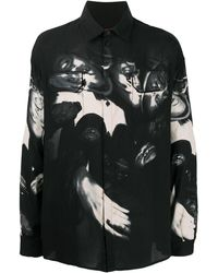 424 Wu Tang プリント シャツ - ブラック