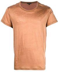 Ann Demeulemeester - Crew Neck T-shirt - Lyst