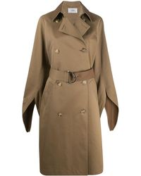 Victoria, Victoria Beckham Double-breasted Trench Coat - Brown