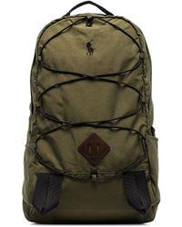 Polo Ralph Lauren Green Lightweight Mountain backpack - Vert