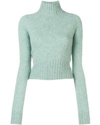 Victoria Beckham Crew Neck Sweater - Green