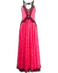 Christopher Kane ビジューレース ドレス - ピンク