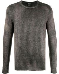 Avant Toi Fine Knit Crewneck Sweater - Brown