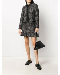 Karl Lagerfeld Пиджак Из Ткани Букле - Черный