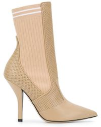 Fendi - Sock-fit Pointed Boots - Lyst