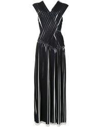 3.1 Phillip Lim Плиссированное Платье - Черный