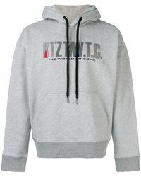 KTZ Mountain Embroidered Hoodie - Серый