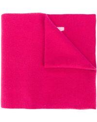 DSquared² Трикотажный Шарф Icon С Логотипом - Розовый