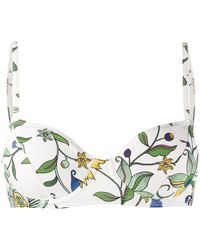Tory Burch 61379996 996 Love Floral Natural (vegetable)->cotton - Белый